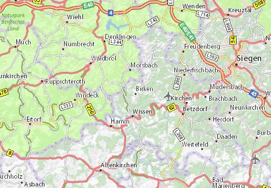 Mappe-Piantine Birken