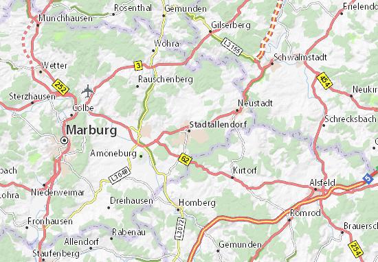 Stadtallendorf Map