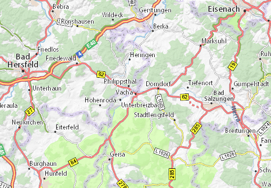 Vacha Map