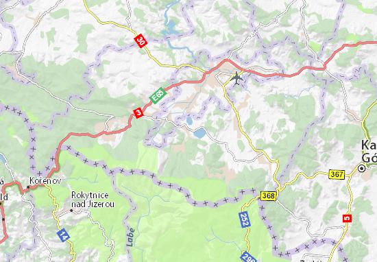 Podgórzyn Map