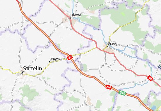 Carte-Plan Łukowice Brzeskie