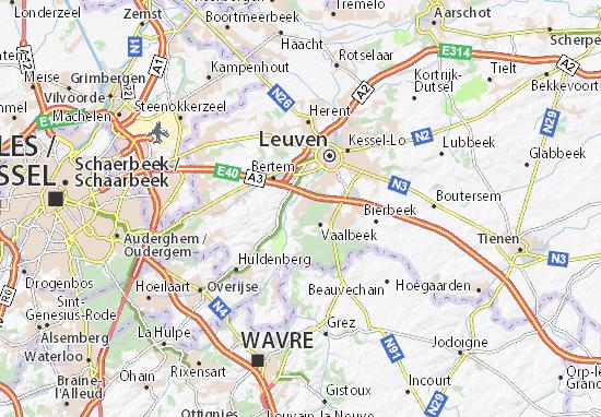Mappe-Piantine Oud-Heverlee