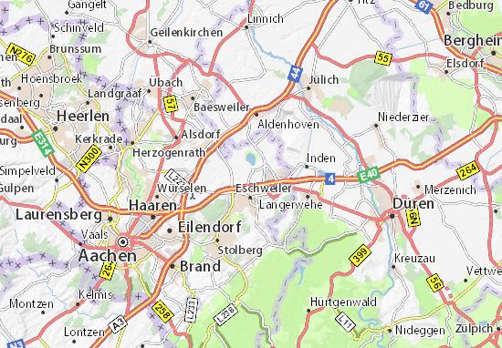 stadtplan eschweiler