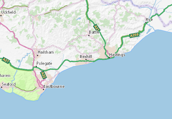 Bexhill Map