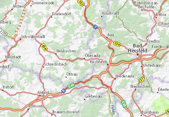 Carte-Plan Oberaula