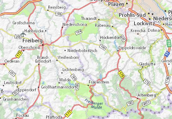 Carte-Plan Pretzschendorf