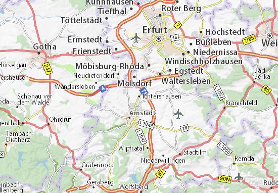 Ichtershausen Map