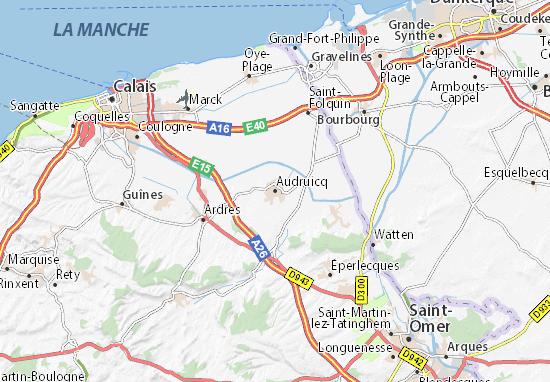 Mapas-Planos Audruicq
