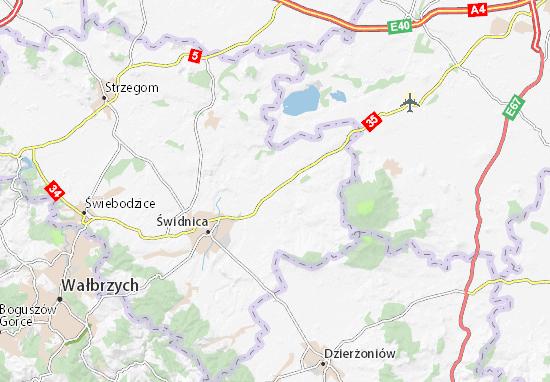 Mapa Marcinowice
