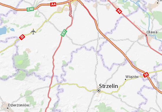 Borów Map