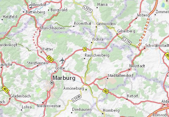 Rauschenberg Map