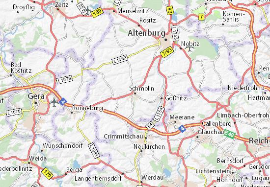 Schmölln Map