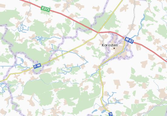 Mapa Plano Vyhiv
