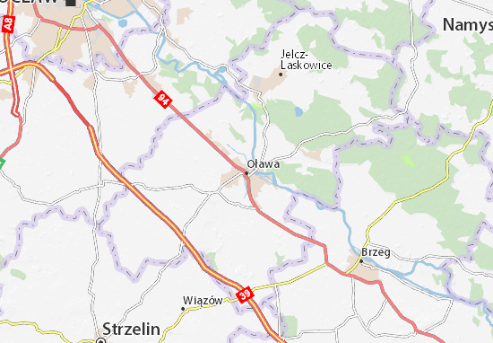 Carte-Plan Oława