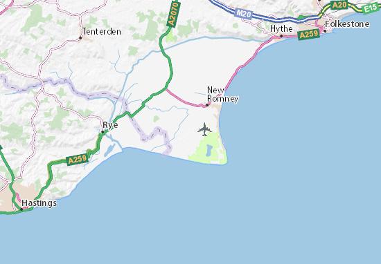 Lydd Map
