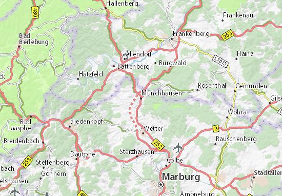 Münchhausen Map