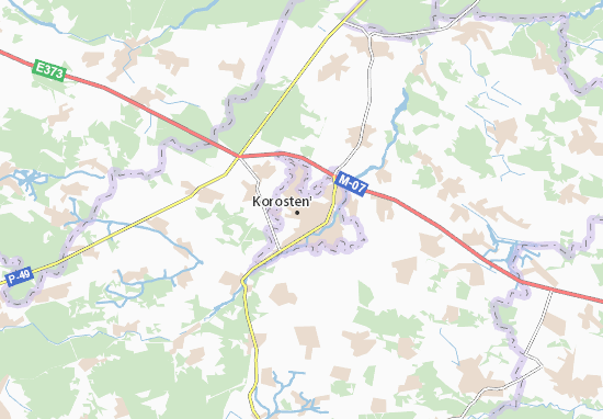 Mappe-Piantine Korosten'