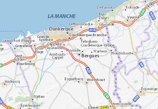 Mappe-Piantine Bergues
