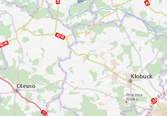 Mapas-Planos Krzepice