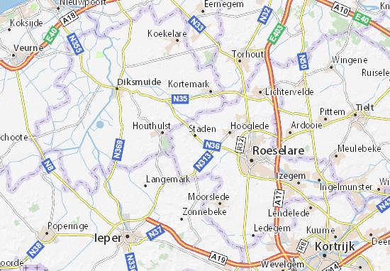 Mapa Plano Staden