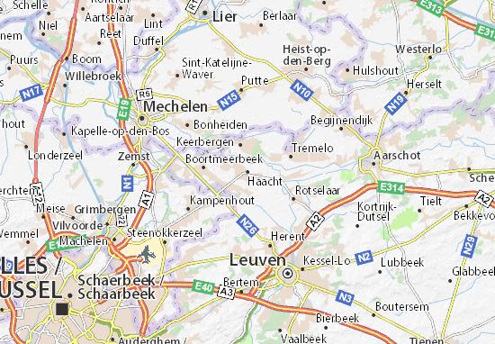 Haacht Map