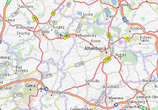 Starkenberg Map