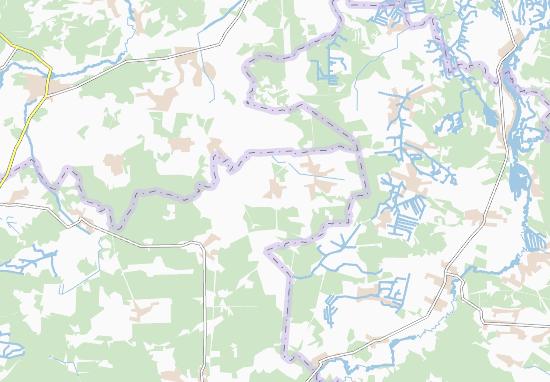 Mapas-Planos Kholonevychi