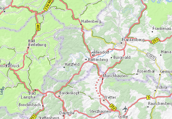Battenberg Map