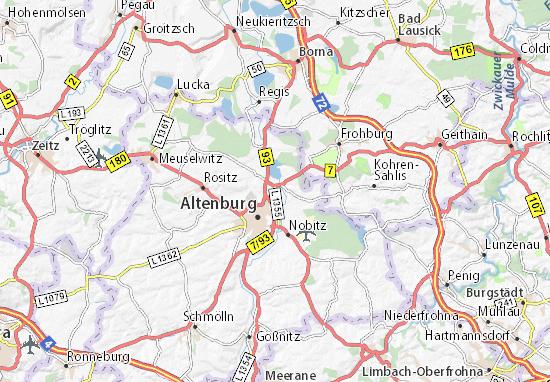 Windischleuba Map