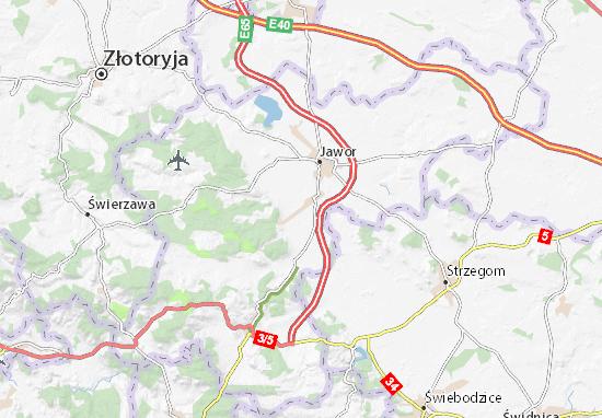 Carte-Plan Paszowice