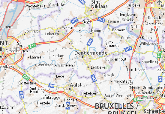 Carte-Plan Dendermonde