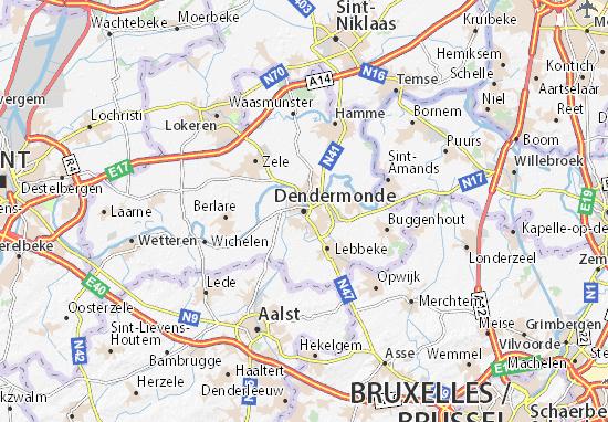 Dendermonde Map