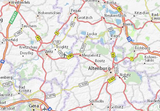 Meuselwitz Map