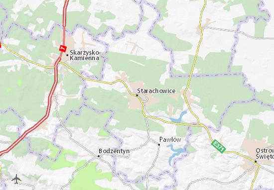 Carte-Plan Starachowice