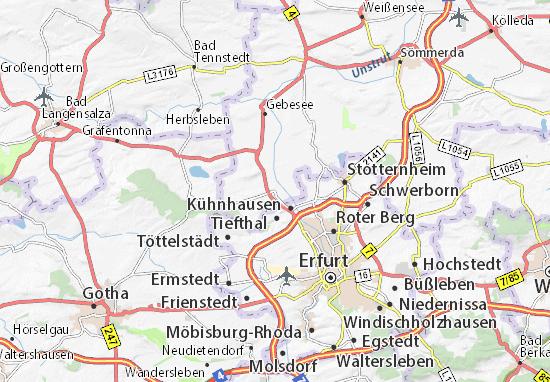 Elxleben Map