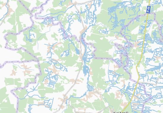 Mapa Plano Zolotolyn
