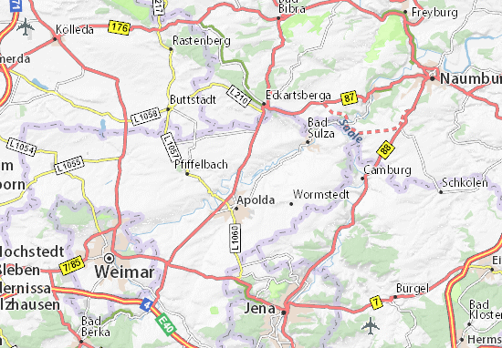 Wickerstedt Map