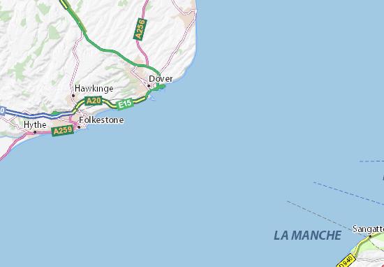 Chunnel Map on