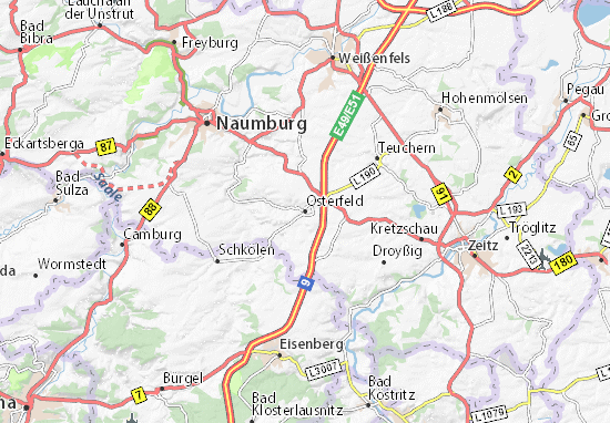 Osterfeld Map
