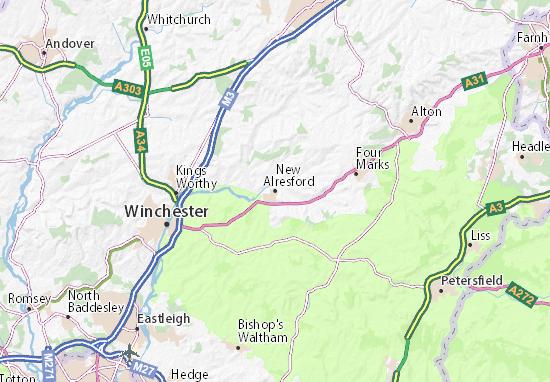 Carte-Plan New Alresford