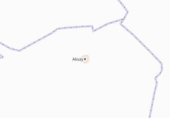 Carte-Plan Aksay