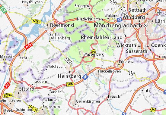 Carte-Plan Wassenberg