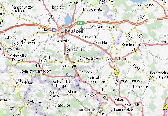Karte Stadtplan Klipphausen