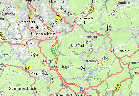 Carte-Plan Herscheid