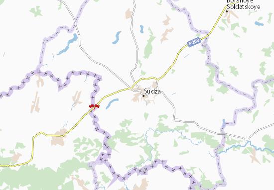 Mapas-Planos Goncharovka
