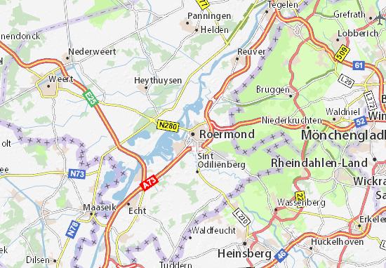 Carte-Plan Roermond