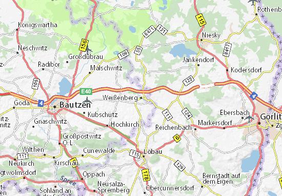 Mapas-Planos Weißenberg
