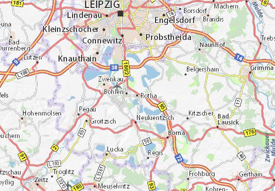 Rötha Map