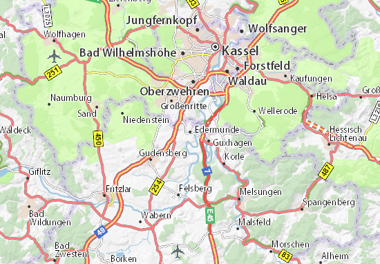 Edermünde Map