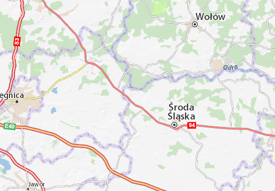 Mapa Malczyce